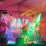 Band in de tent